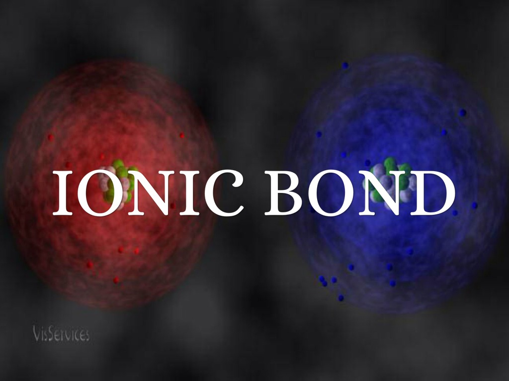 Chemical bonding ionic bonds notes