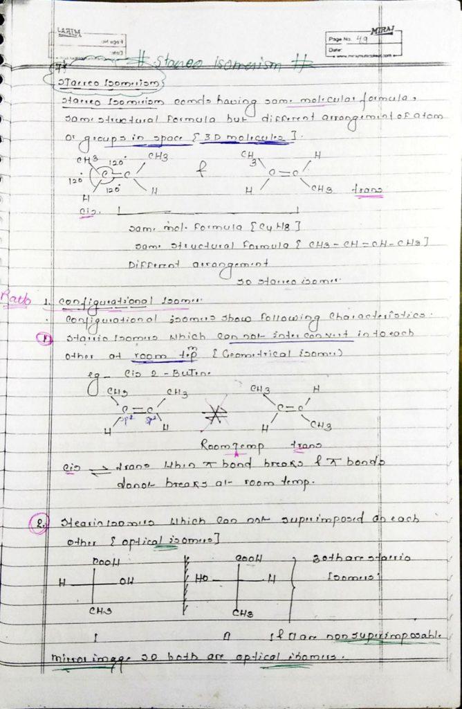 GOC Stereoisomerism (1)