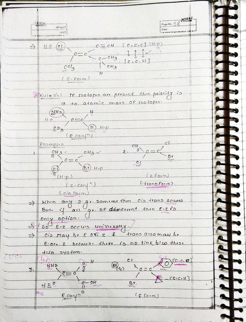 GOC Stereoisomerism (10)
