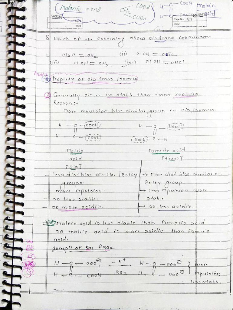 GOC Stereoisomerism (5)