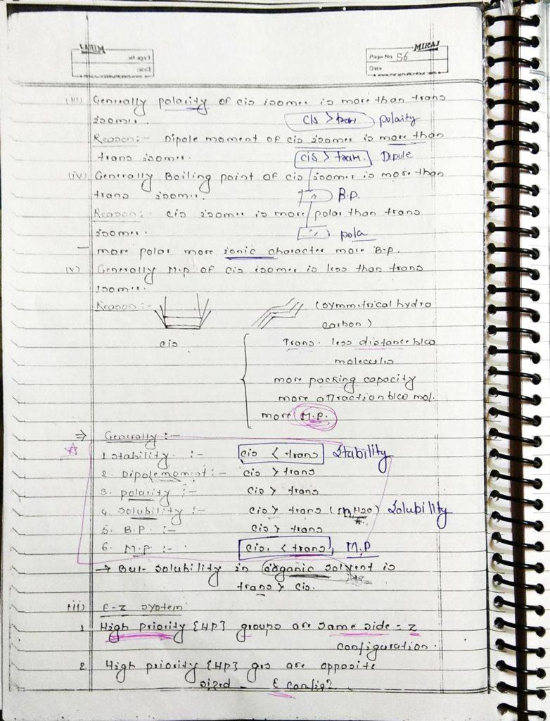 GOC Stereoisomerism (8)