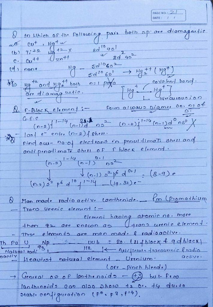 General inorganic chemistry (17)