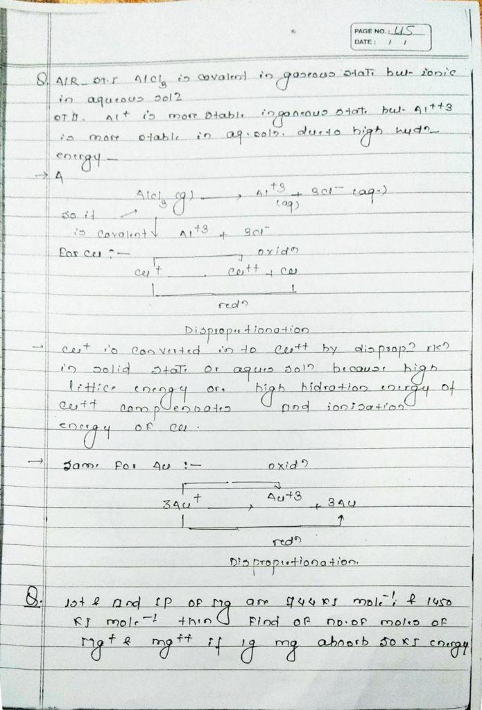 General inorganic chemistry (41)