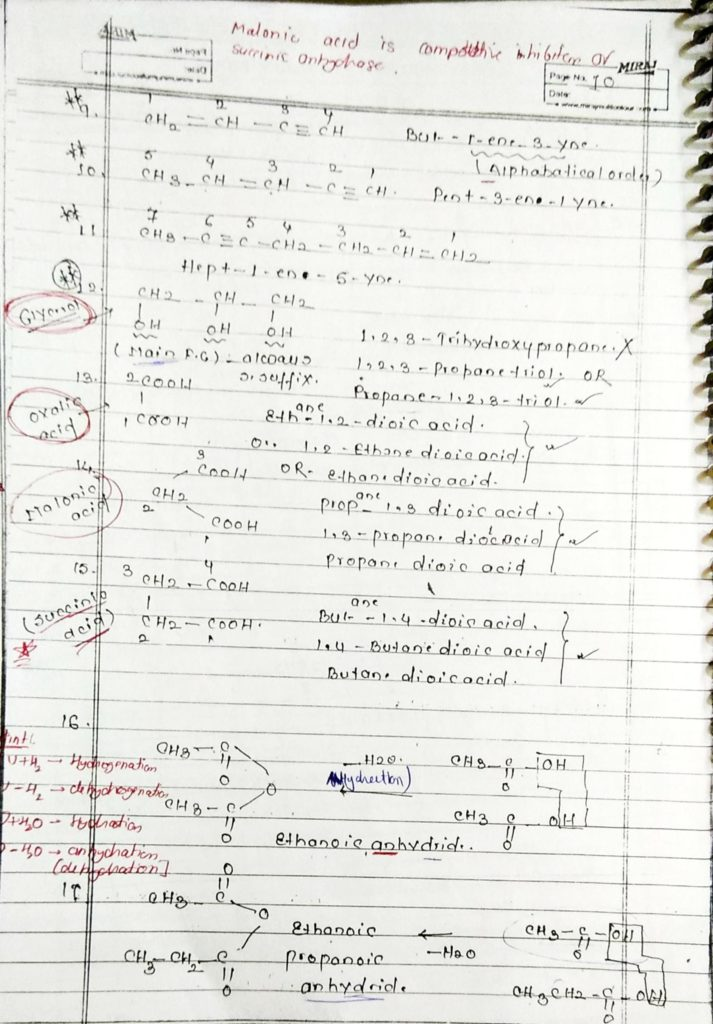 General organic chemistry (10)