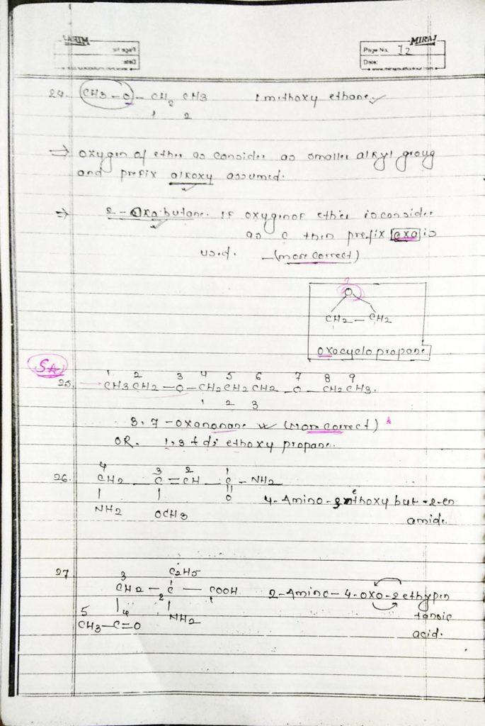 General organic chemistry (12)