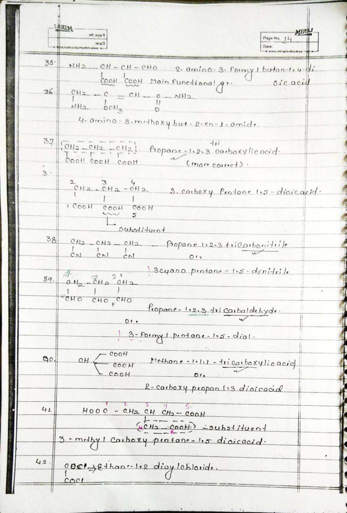 General organic chemistry (14)