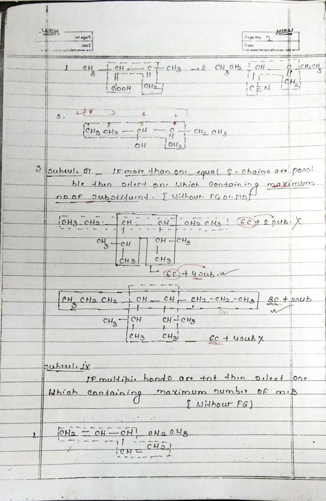 General organic chemistry (2)