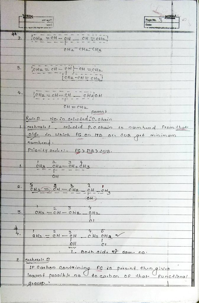 General organic chemistry (3)
