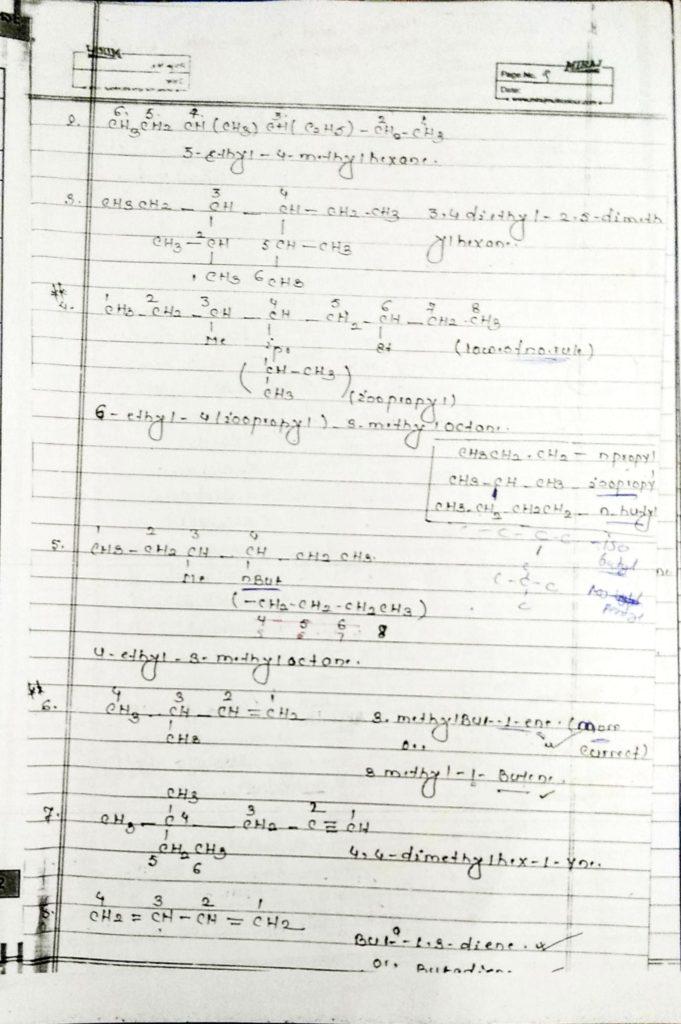 General organic chemistry (9)
