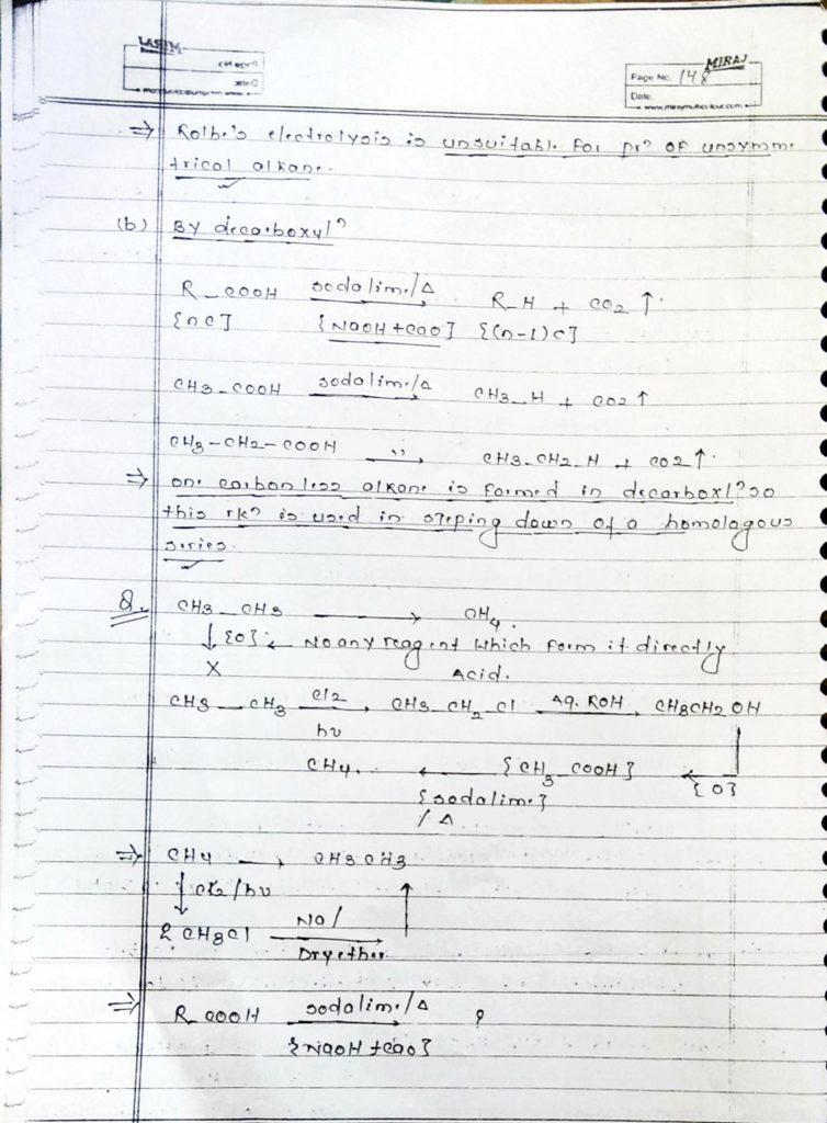 Hydrocarbon Alkane (14)