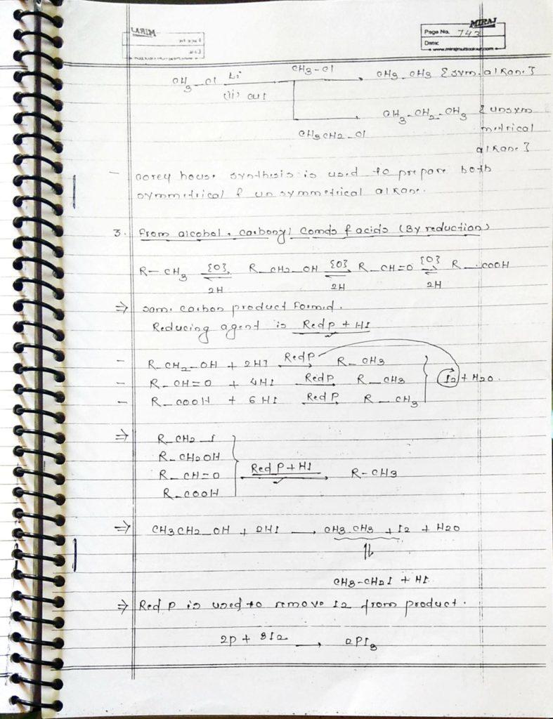 Hydrocarbon Alkane (9)
