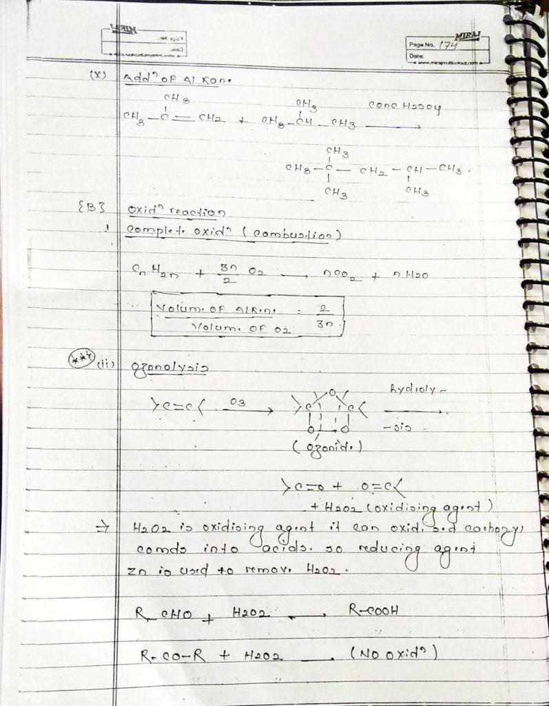 Hydrocarbon Alkene (15)