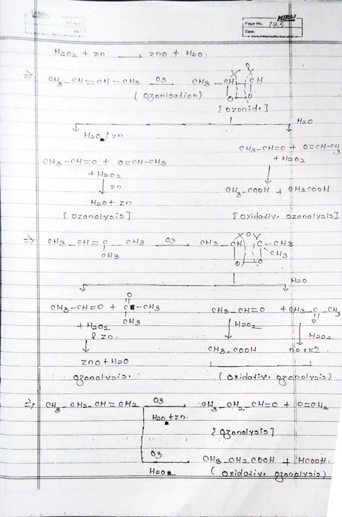 Hydrocarbon Alkene (16)