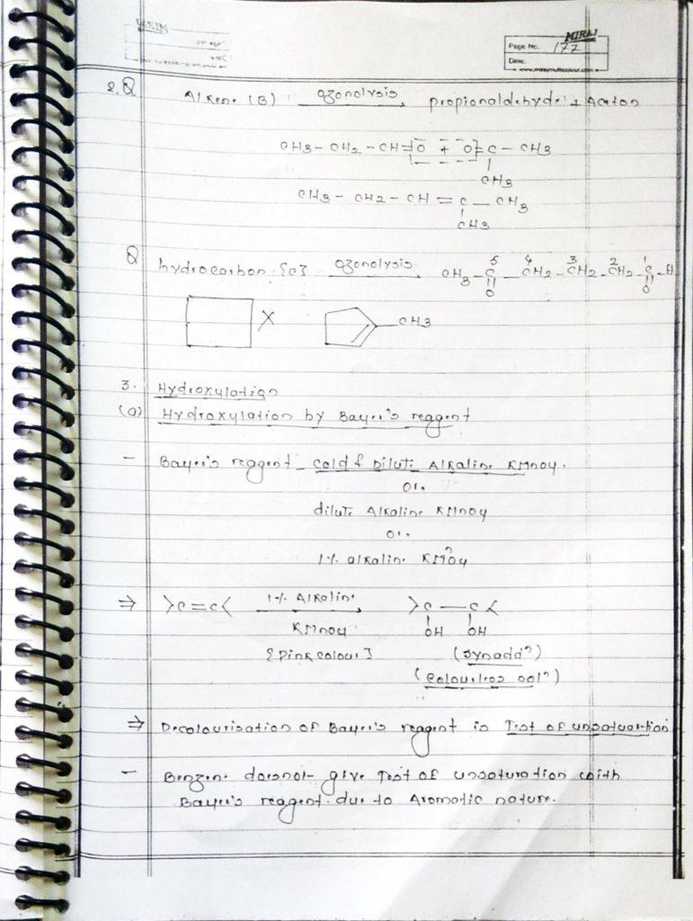 Hydrocarbon Alkene (18)