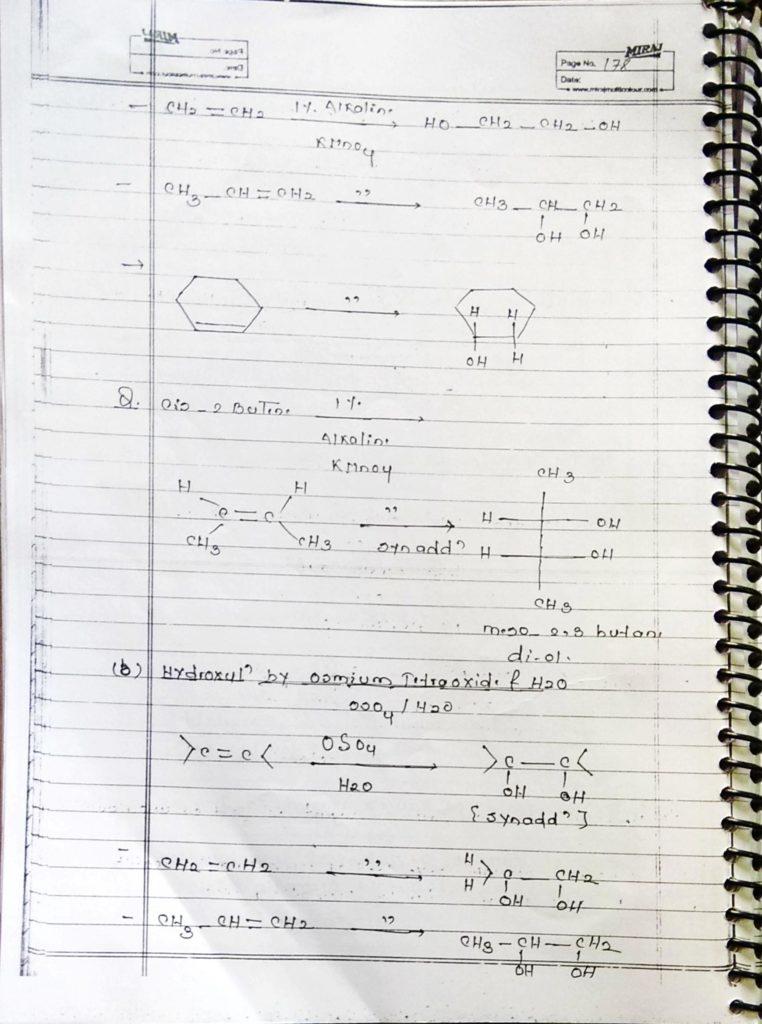 Hydrocarbon Alkene (19)