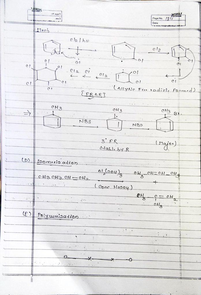 Hydrocarbon Alkene (25)