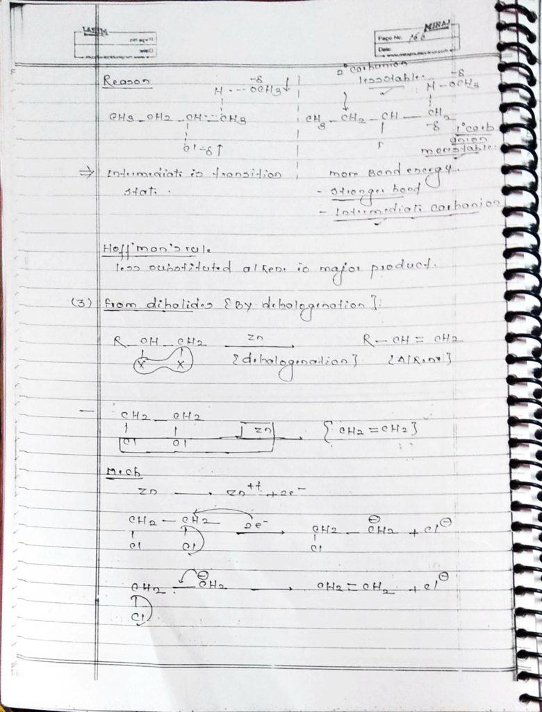 Hydrocarbon Alkene (7)