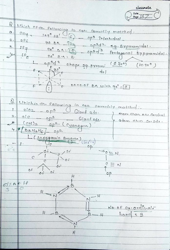 chemical bonding hybridisation (24)