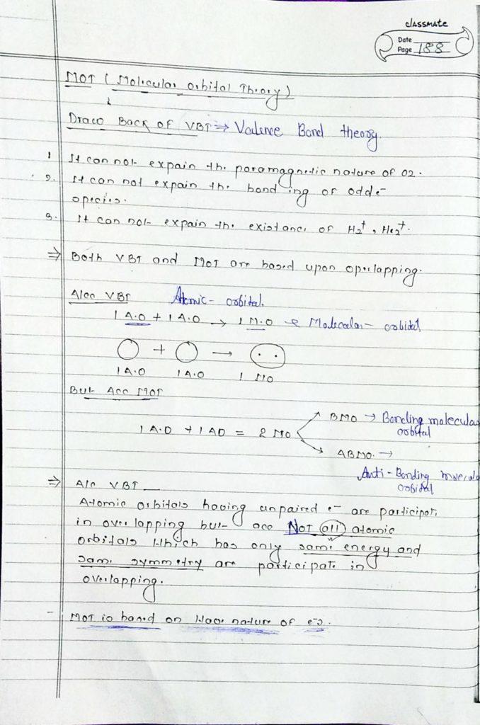 chemical bonding molecular orbital theory (1)