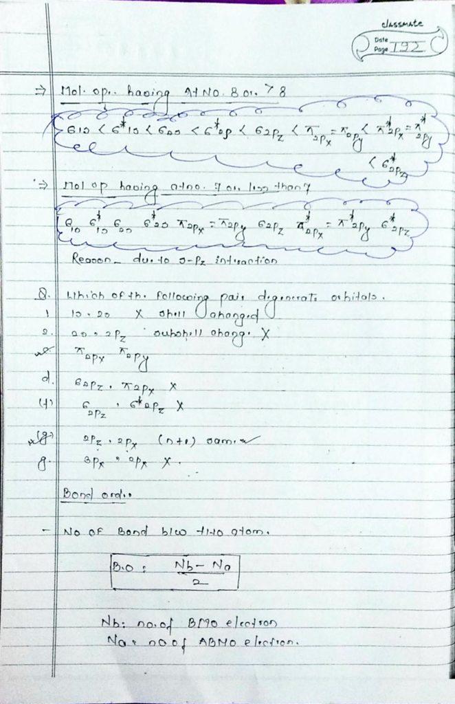 chemical bonding molecular orbital theory (5)