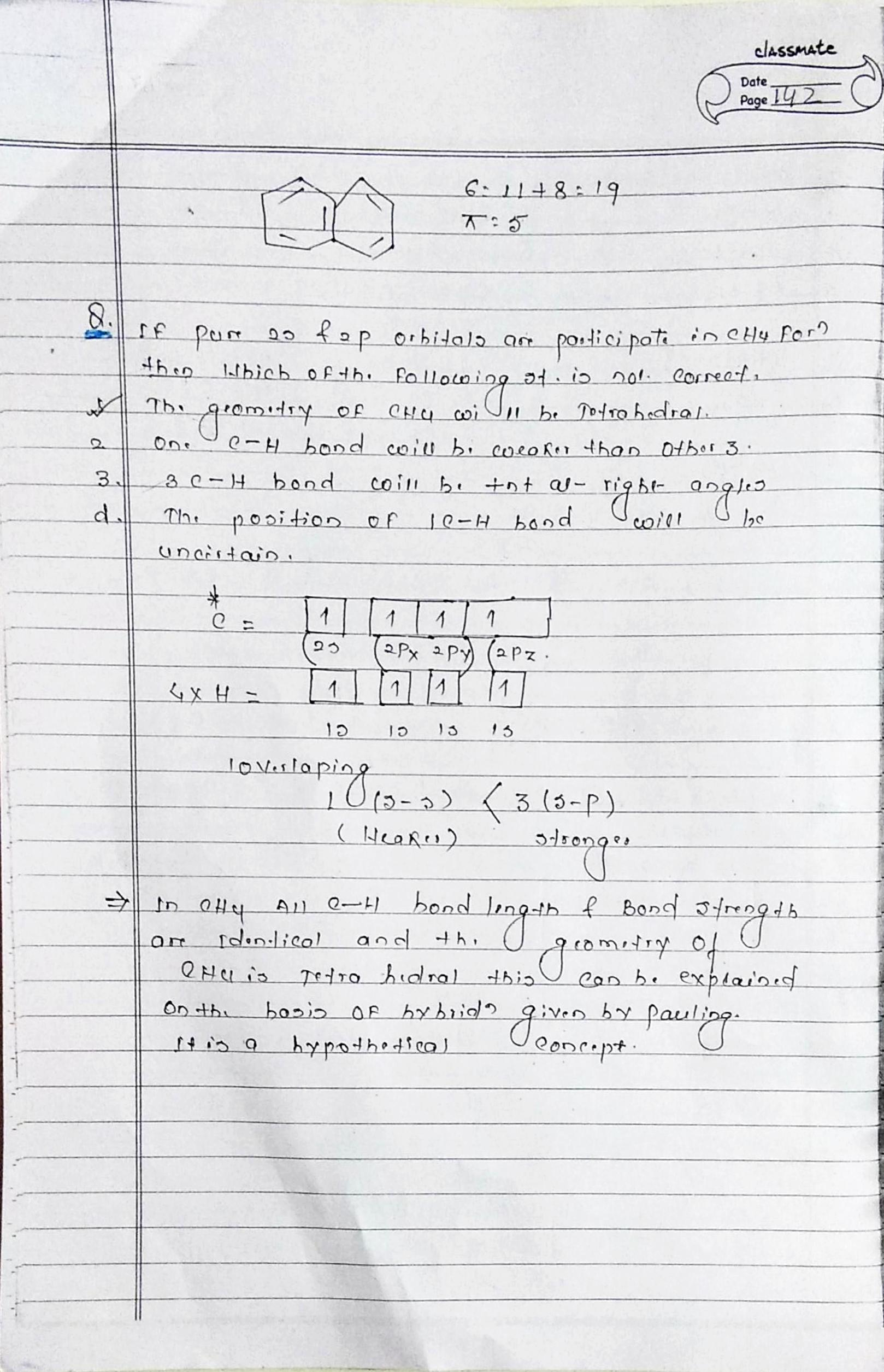 chemical bonding class 11 notes pdf download
