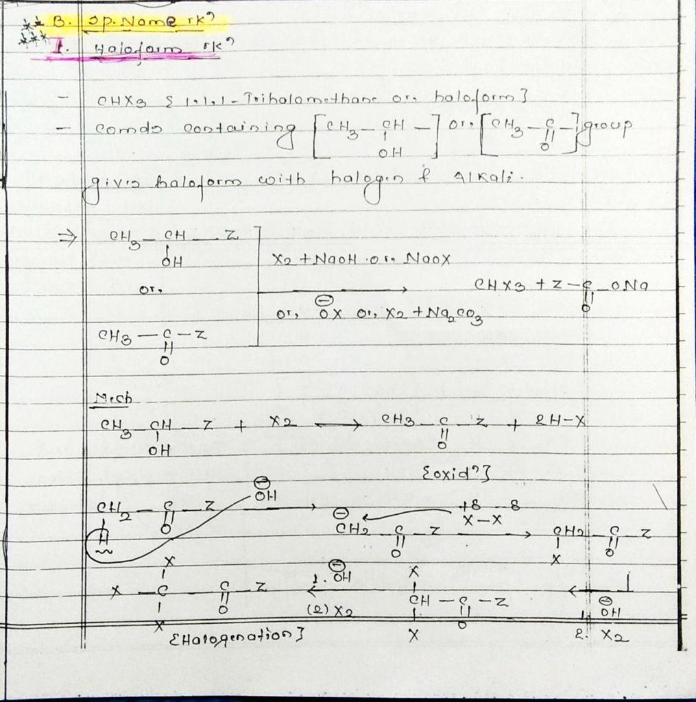 hydrocarbon derivatives special reaction (1)