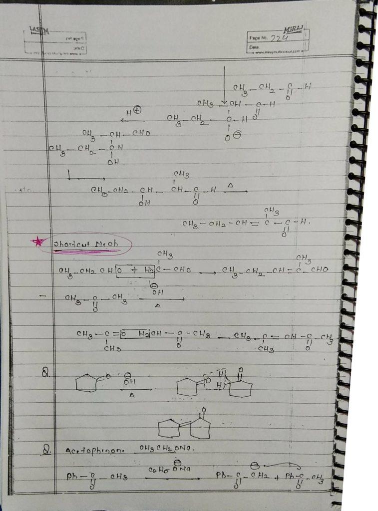 hydrocarbon derivatives special reaction (10)