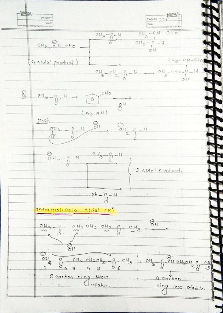 hydrocarbon derivatives special reaction (12)