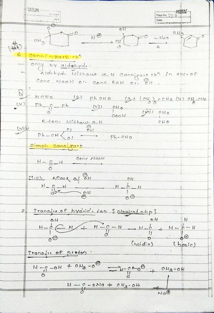 hydrocarbon derivatives special reaction (13)
