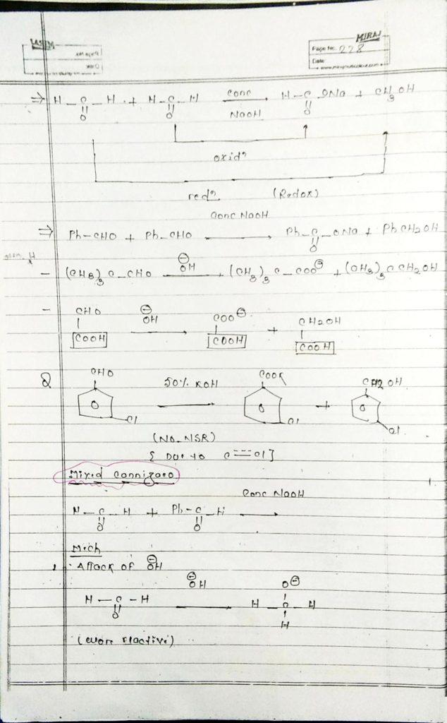 hydrocarbon derivatives special reaction (14)