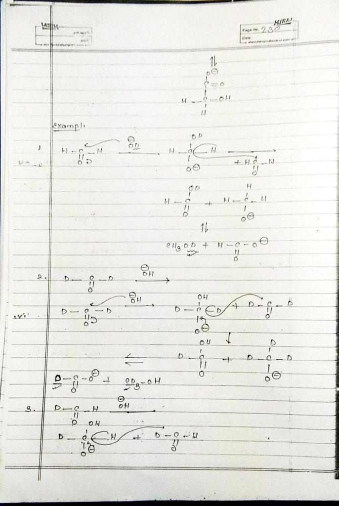 hydrocarbon derivatives special reaction (16)