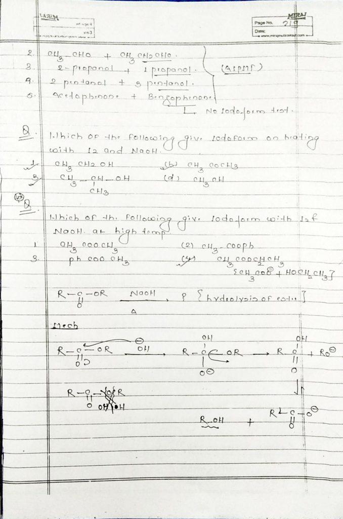 hydrocarbon derivatives special reaction (5)