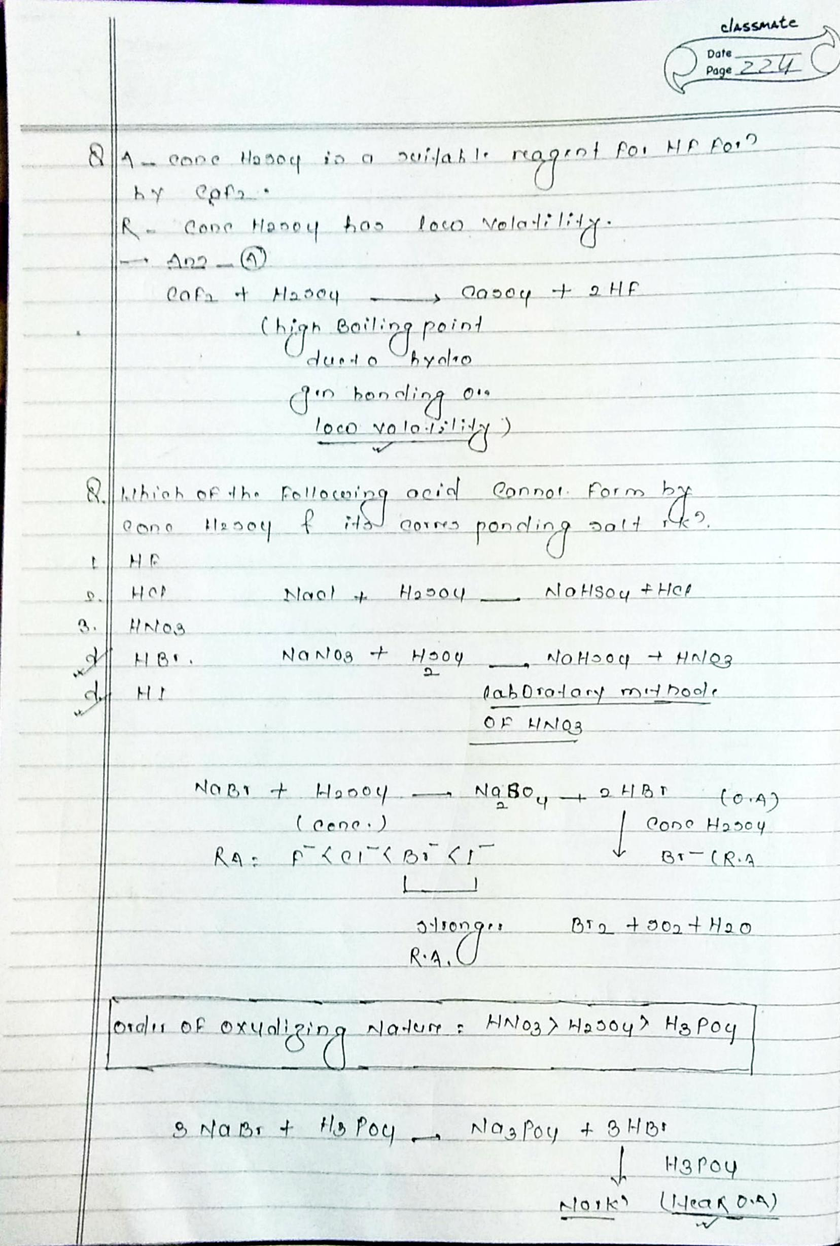 BSc 1st Year Inorganic Chemistry Notes PDF Download Here