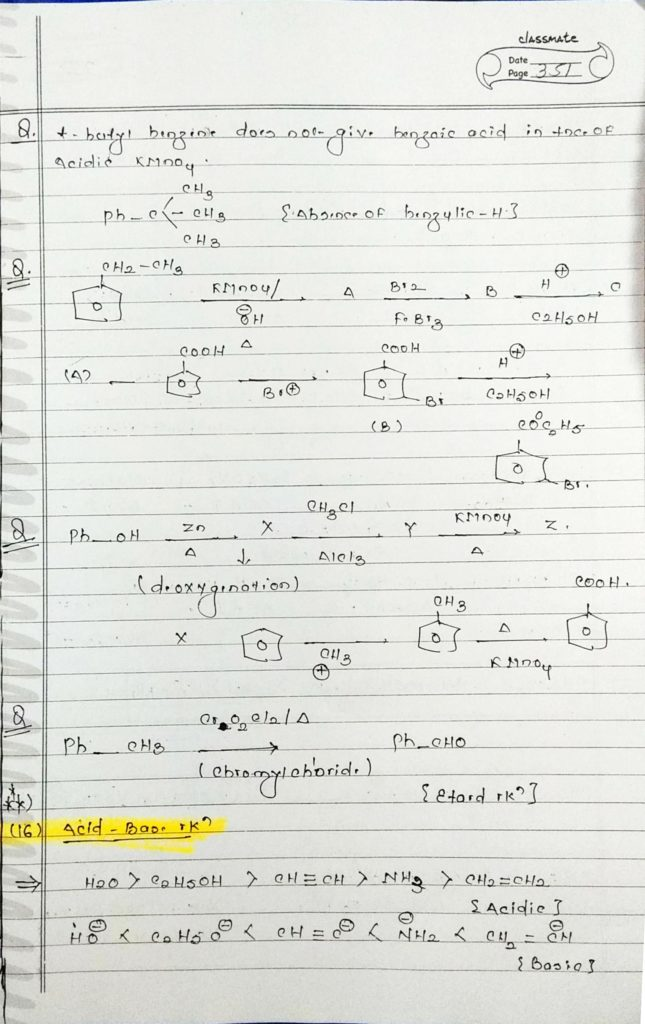 organic chemistry special reactions part 3 (3)