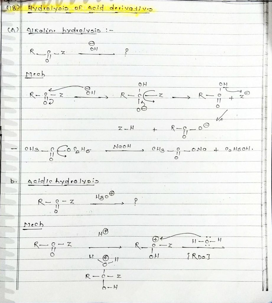 organic chemistry special reactions part 4 (1)