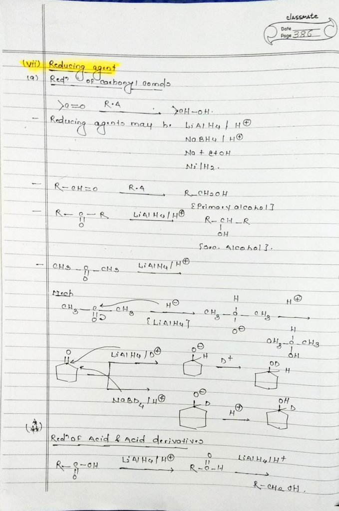organic chemistry special reactions part 5 (1)