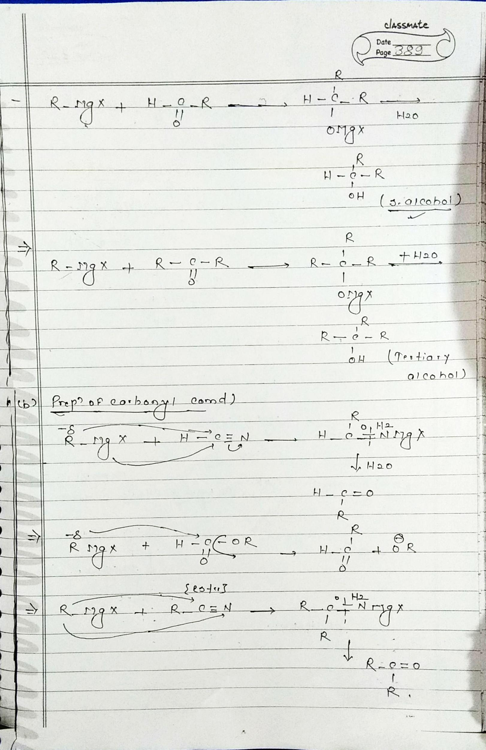 Chapter 3 Part1 Auto Electrical Wiring Diagram Millard Caravan Organic Chemistry Special Reaction Part 5 Simple Notes For