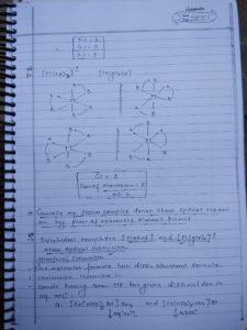Coordination compound: isomerism11
