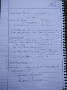 Coordination compound: isomerism12