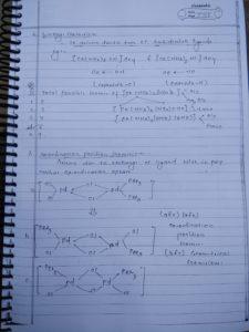 Coordination compound: isomerism15