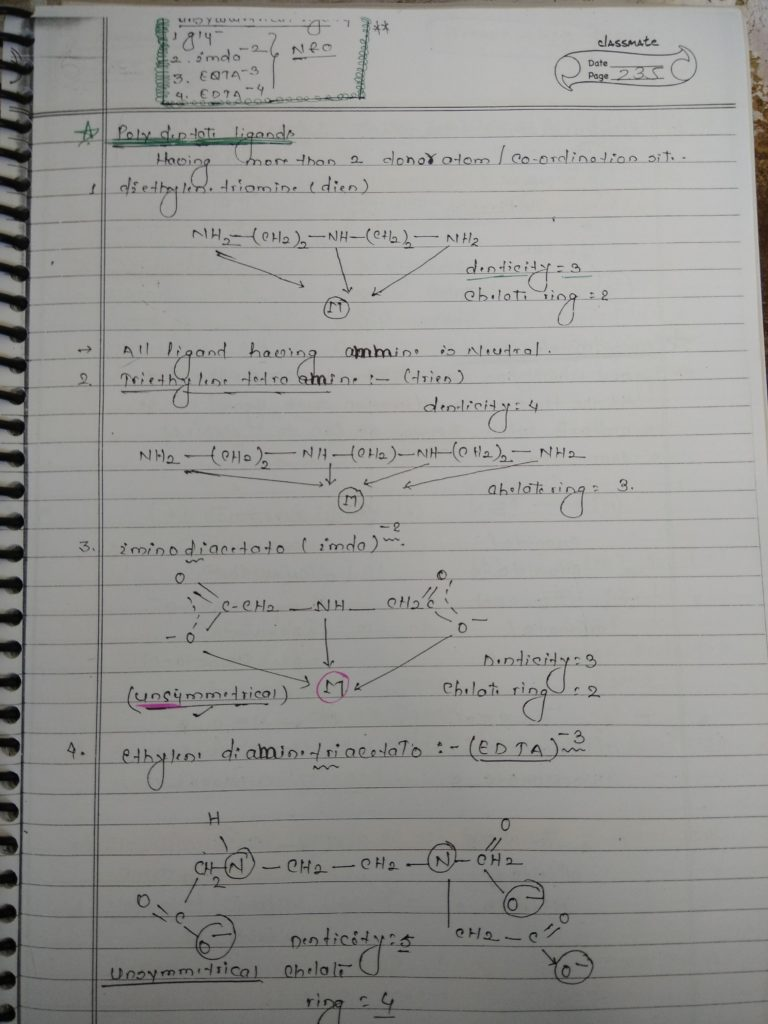 Ligands Notes 6