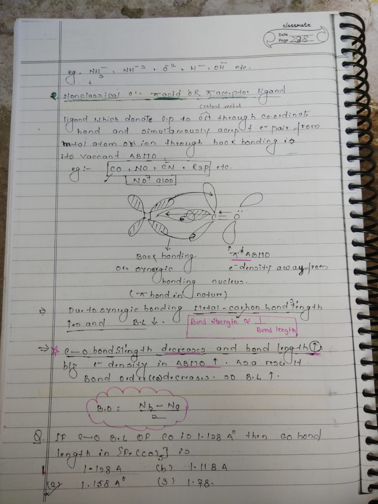 Ligands Notes 9