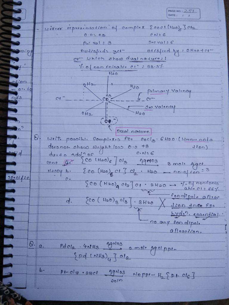 Coordination compound Bonding Notes 2