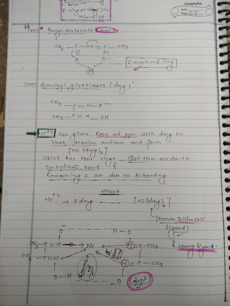Ligands Notes 5