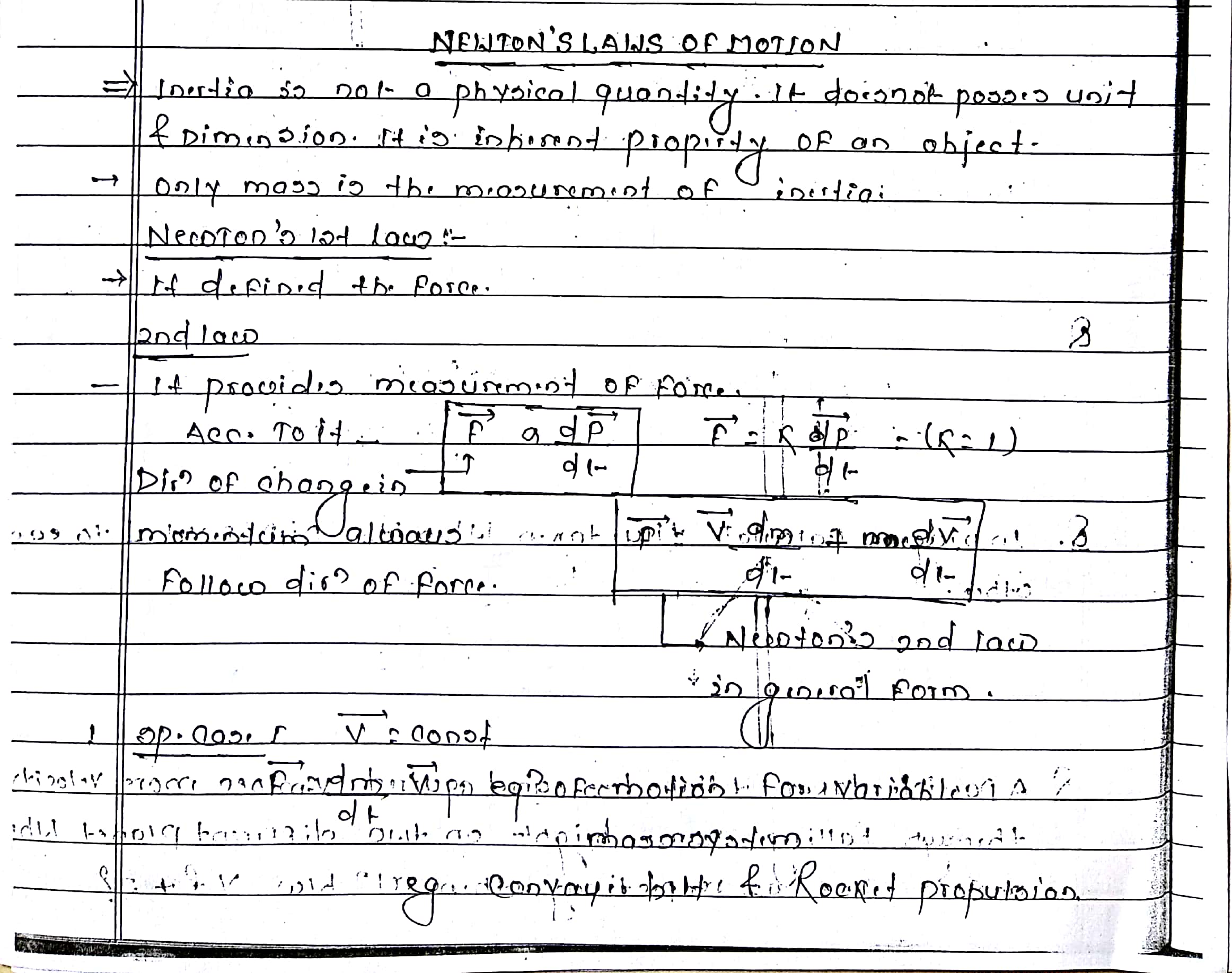 Newton_s Law of Motion_1