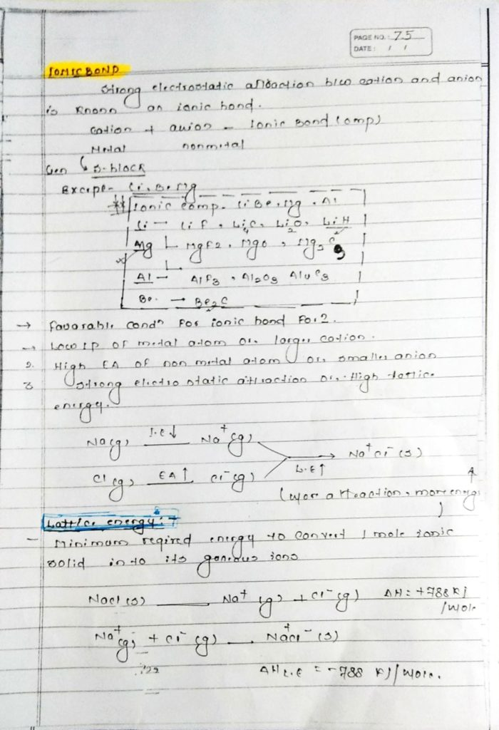 Chemical bonding ionic bonds (1)