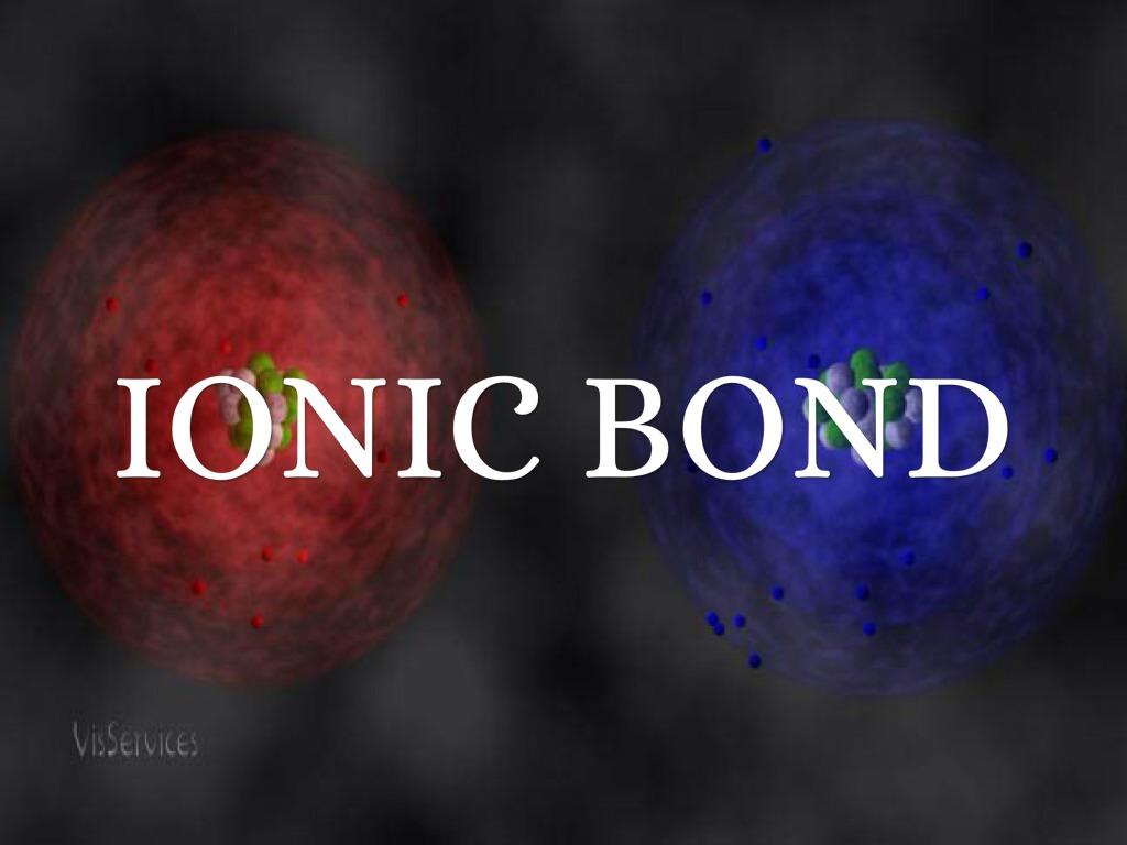 Chemical bonding ionic bonds notes