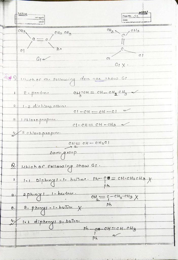 GOC Stereoisomerism (3)