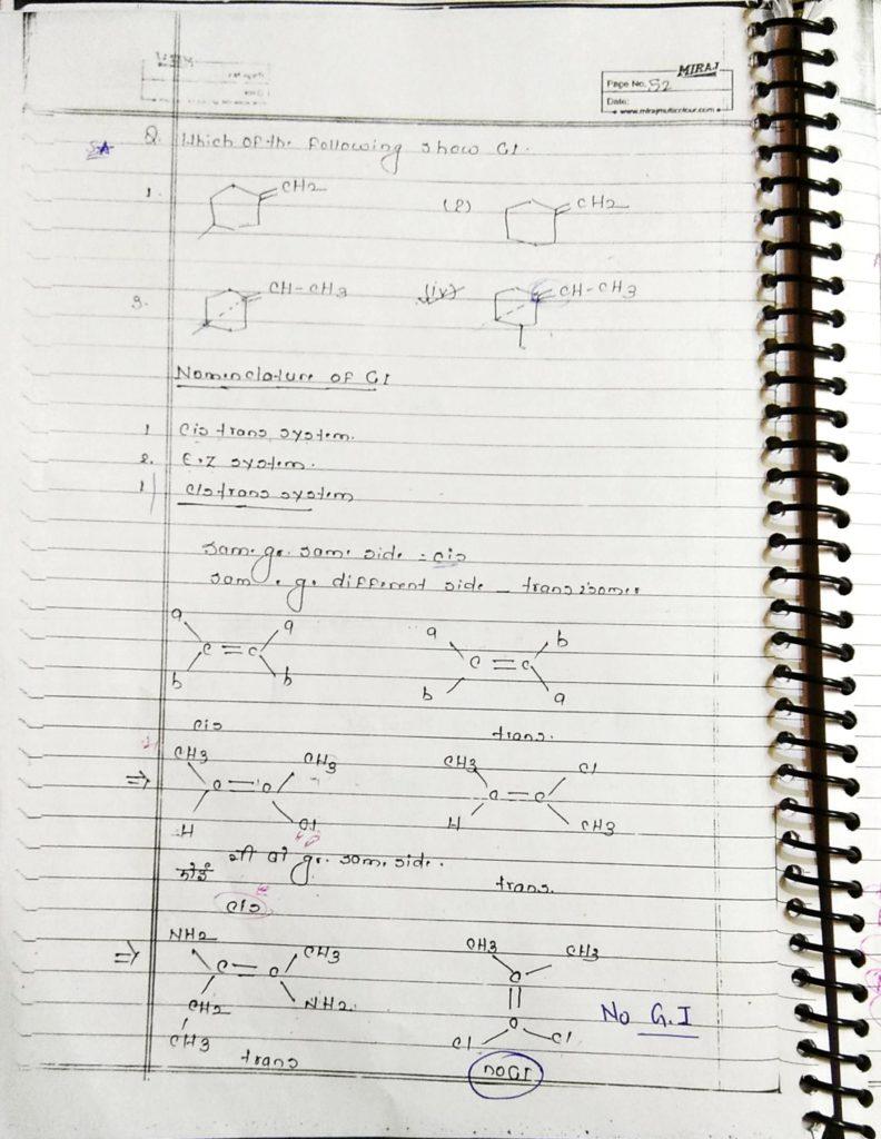 GOC Stereoisomerism (4)