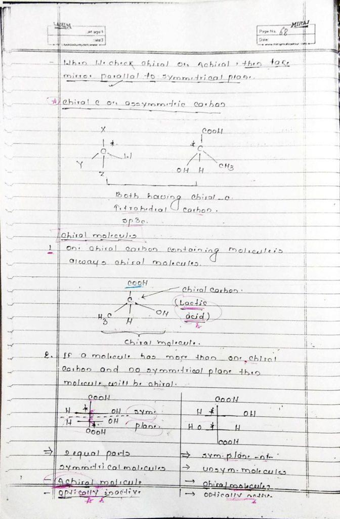 GOC stereoisomerism (20)
